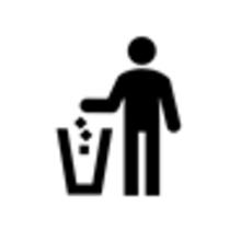 清掃係は客室への入室を控えております。ゴミはエレベーターホールのゴミ箱へお捨てください。