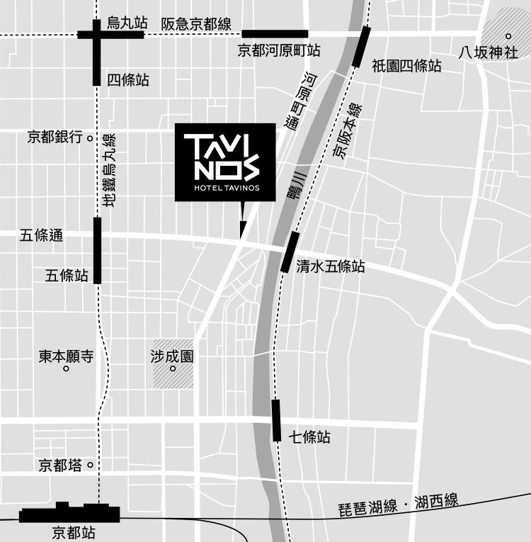 イラスト地図繁体字