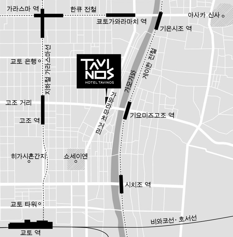 イラスト地図韓国語
